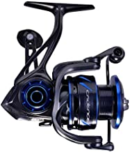 Spinning Reel,CS10 Strong Premium Magnesium Frame Fishing Reel with 11 Durable & Corrosion Resistant Bearings for Saltwater or Freshwater,Super Smooth Powerful Reel with 36LBs Max Drag 6.2:1 Spin Reel