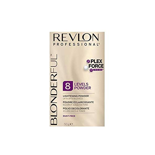 REVLON Professional Hair Loss Products BLONDERFUL 8 (sobre) 50GR, Azul, 50 g (Paquete de 1)