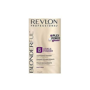REVLON Professional Hair Loss Products BLONDERFUL 8 (sobre) 50GR, Azul, Estándar, 50