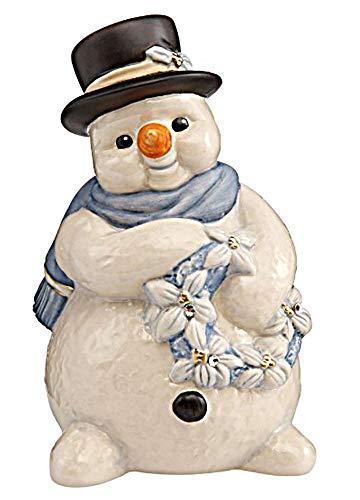 Goebel Figur Schneemann 11,5cm Frostige Winterzeit zu Weihnachten