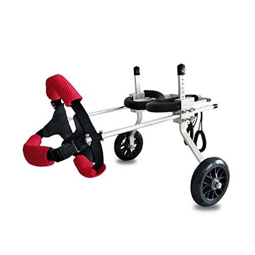 Instelbare huisdier, rolstoel, huisdier-rolstoel, instelbare maat voor de hondachterste trainingshulproller, een groot aantal modellen die geschikt zijn voor kleding van huisdier 2-50 kg achter.