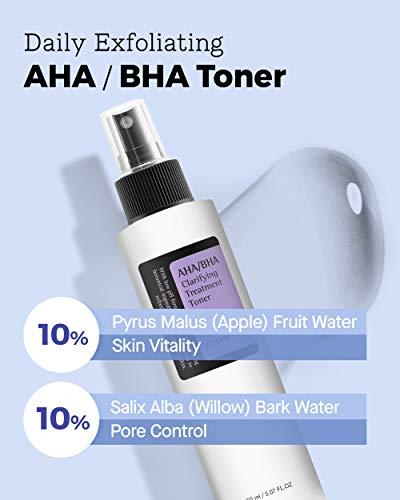 COSRX AHA/BHA Clarifying Treatment Toner, 5.07 fl.oz / 150ml