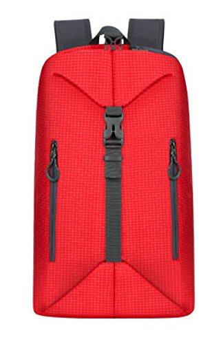 LOUHH multifunctionele vervorming rugzak Outdoor drie soorten sporttassen voor mannen en vrouwen Rood