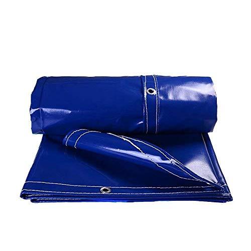 Plane 500 G/M² 0,05 Mm Wasserdichter Sonnenschutz Für LKW-Dachabdeckungen Aus Linoleum Markisen ZXZIXI (Color : Blue, Size : 4x5m)