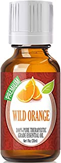 Wild Orange Essential Oil - 100% Pure Therapeutic Grade Wild Orange Oil - 30ml