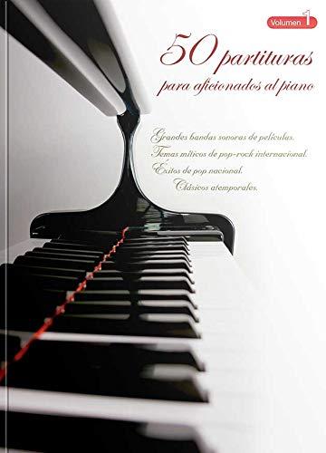 """""""50 Partituras Para Aficionados Al Piano"""" VOL 1"""