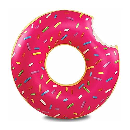 Natación de aire colorido inflable de la piscina, anillo Piscina Flotador verano al aire libre Actividades al aire libre fiesta ecológico lindo adulto vacaciones vacaciones (Color : Dark Khaki)