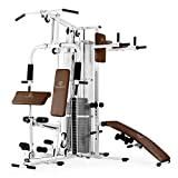 Klarfit Ultimate Gym 5000 White Edition - Máquina de...