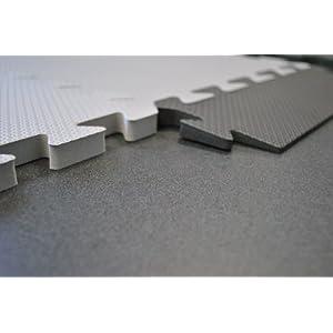 "EWONDERWORLD 90"" x 42"" Premium Quality Extra Thick Interlocking Puzzle Treadmill Exercise Foam Mat - Home Gym Floor, Workout Equipment Mat, Noise Reduction"