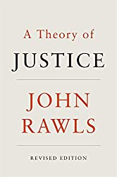 Book cover: A Theory of Justice by John Rawls