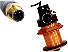 FURUNO Smart Sensor w/ speed & temp, NMEA 2000, MFG# DST-800MSF, 235KHz depth sounder, speed paddlewheel, and temp sensor. B617 bronze thru-hull low-profile (2