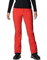 Columbia Roffe Ridge III Los Pantalones De Esquí Térmicas, Mujer