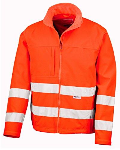 Ergebnis Safeguard R117X -fo-xl high-viz Soft Shell Jacke, X-Large, Orange