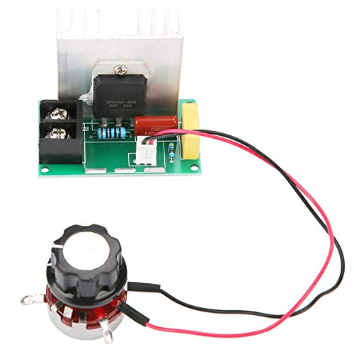 LANTRO JS - AC 0-220V 8000W AC controlador de velocidad del motor, controlador de velocidad del motor regulador de voltaje de alta potencia