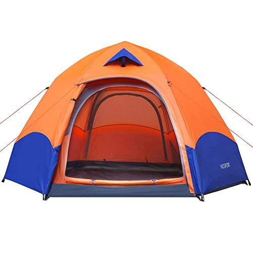 Tienda de Campaña 3 Personas HOSPORT Instantáneas Tiendas Camping Pop Up Automático...