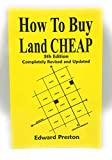 How to Buy Land Cheap: 5th Edition