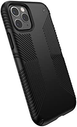 Speck Products Presidio Grip iPhone 11 Pro Case, Black/Black, Model:129892-1050