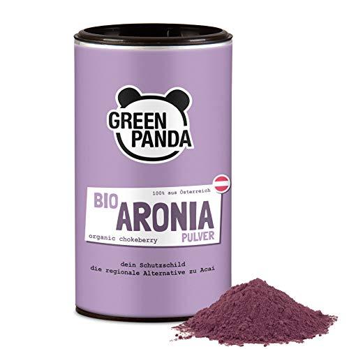 Bio Aronia Pulver aus österreichischem Anbau, getrocknet und extra fein gemahlene Aronia Beeren bio...