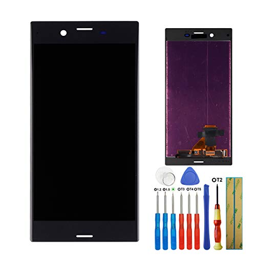 E-YIIVIIL Display Kompatibel mit Sony Xperia XZ F8331 F8332 LCD Touch Screen Display Assembly with Tools