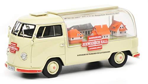 Schuco 450902300 VW T1a Schwäbisch Hall 1:43 450902300-VW, Modellauto, Modellfahrzeug, beige
