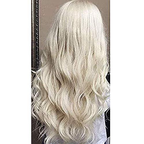 Moresoo 24inch Remy Hair Extensions Tape in Human Hair Straight Unprocessed Remy Human Hair Platinum Blonde Color #60 Tape in Hair Extensions Glue in50g/20pcs