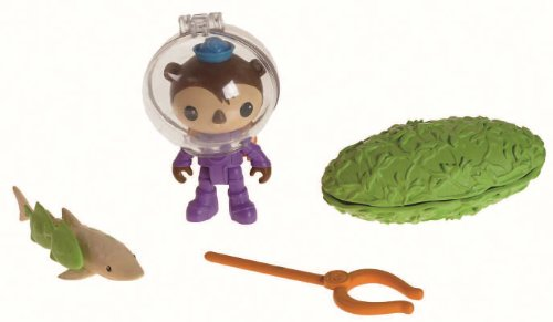 Fisher Price Juguete – Octonauts Action Figure Rescue Kit – Shellington and The Swell Shark Playset