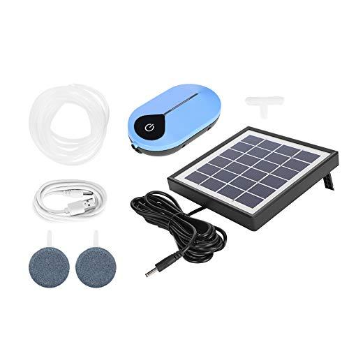 Redxiao 【 】 Bomba de aireación Solar accionada por energía Solar de...