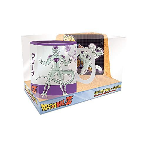 ABYstyle Gift Set Dragon Ball: Tasse 460 ml und Untersetzer Goku vs Freezer - 460 ml