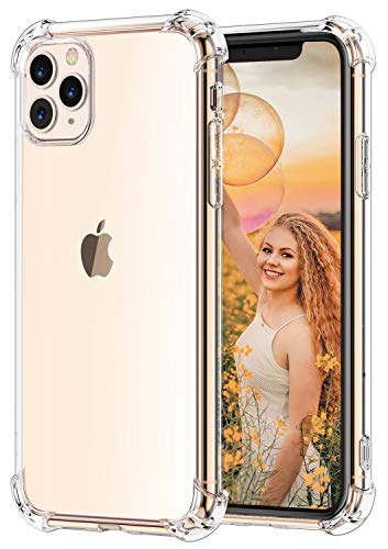 für iPhone 11 Pro Hülle, Babacom Ultra Dünn Transparent TPU Handyhülle für iPhone 11 Pro, [Anti-Gelb][Anti-Scratch] [Crystal Clear], Stoßfest Weiche Bumper Case (2019) 5,8 Zoll