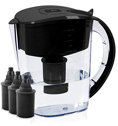BU-KO Jarra de Agua alcalina DE 3,5 litros, Ionizador de Agua Pura y...