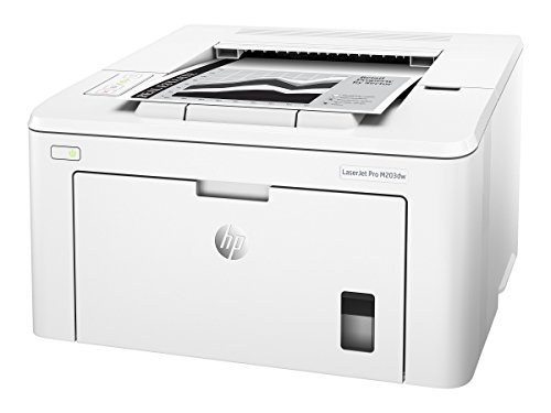 HP LaserJet Pro M203dw Wireless Laser Printer, Works with Alexa (G3Q47A). Replaces HP M201dw Laser Printer