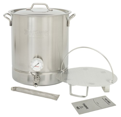 Bayou Classic Stainless Steel 10-Gallon Brew Kettle