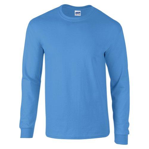 Gildan Ultra Cotton TM Adult Langarm-T-Shirt XL,Blau - Carolina Blue
