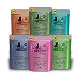 Catz finefood - Comida para Gatos en Paquete múltiple, 12Bolsas (de 85g Cada una) No.15-No.25