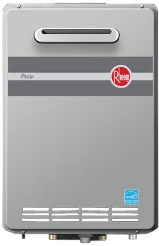Rheem RTGH-84XLP 8.4 GPM Outdoor Condensing Propane Tankless Water Heater