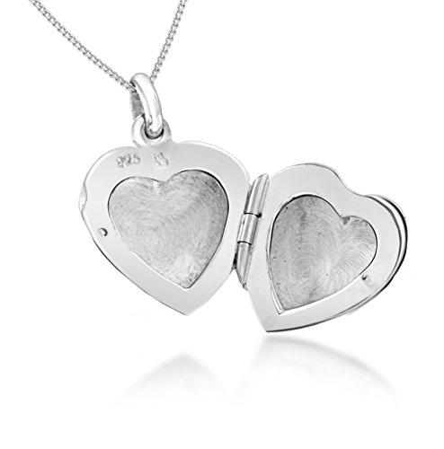 Tuscany Silver Damen - Kette 925 Sterling Silber Rundschliff Diamant 8.43.5224