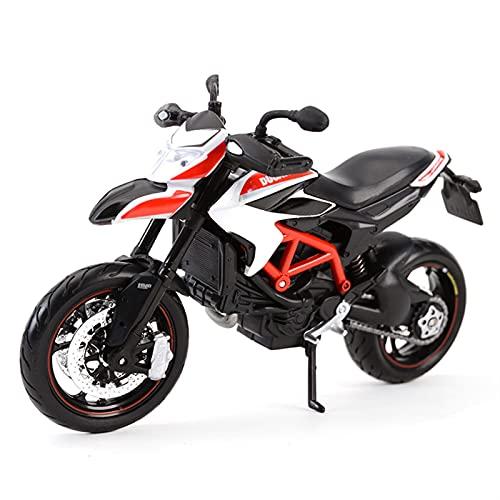 Modelos De Escala De Simulación para Ducati Hypermotard SP 2013 1:12 Simulación Estática De Fundición A Presión Modelo De Motocicleta Juguete Navidad Año Nuevo Cumpleaños