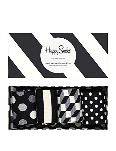 Happy Socks Geschenkbox CLASSIC BLACK AND WHITE SOCKS XCBW09-9100 Mehrfarbig, Size:41-46