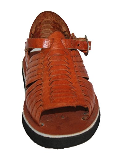 KIDS BABY TODDLER AUTHENTIC HUARACHE MEXICAN SANDALS_TAN_9