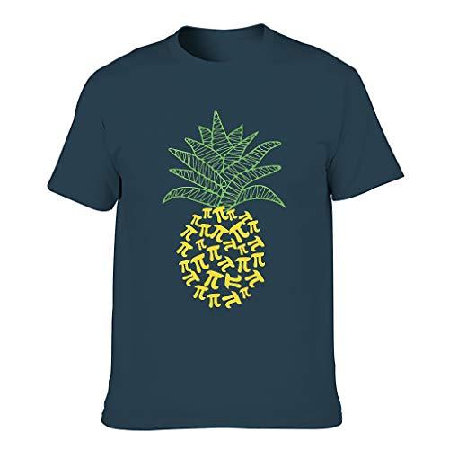 Chicici Fashion Camiseta de algodón para hombre Pi- Pi- Elegante cuello redondo - Camiseta para varios activados