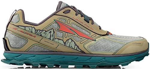 ALTRA Men's ALM1855L Lone Peak 4 Low RSM Waterproof Trail Running Shoe, Green - 9 M US