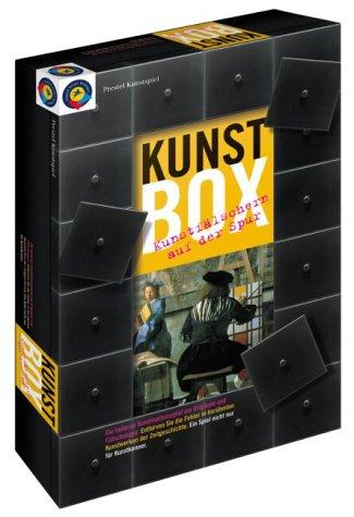 Die Prestel Kunstbox. Prestel Kunstspiel. Kunstfälschern auf der Spur. Für 2-5 Spieler ab 12 Jahren.