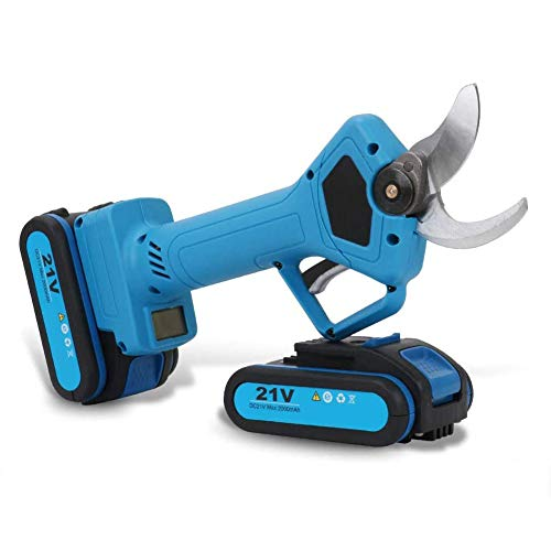Fantastic Prices! Professional Cordless Lithium Pruning Shears Portable Electric Tree Branch Pruner ...