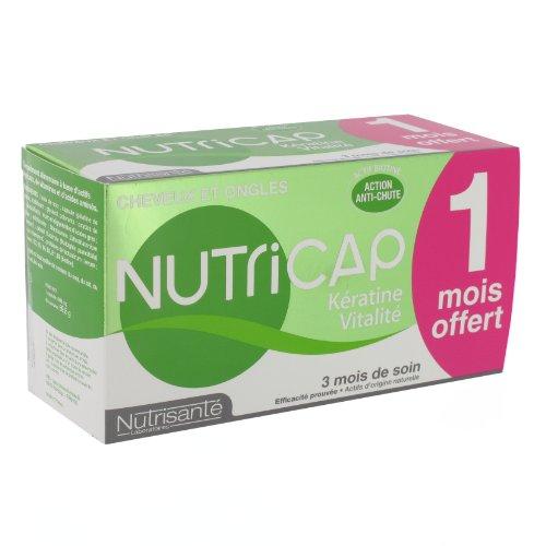 Nutrisanté Nutricap Kératine/Vitalité Multi-Vitamines/Minéraux 90 Capsules