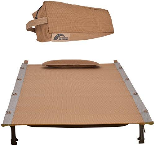 Raychell(レイチェル) 折りたたみ式 ベッド RR-UC02 ウルトラコット サハラ 専用キャリーバッグ付き 耐荷重100kg 38037