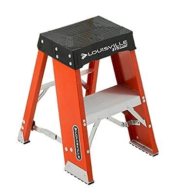 Louisville Ladder Fiberglass Step Stand Ladder