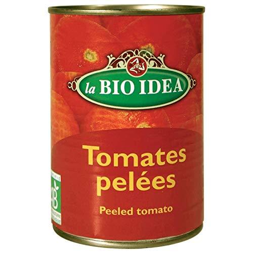 Bioidea Tomaten Gepeld (Blik), 400g, 1 Units