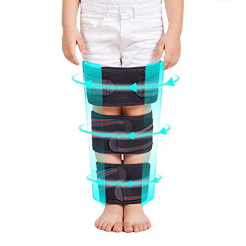 Correas para enderezar las piernas, banda de corrección de piernas ajustable para piernas tipo XO, envoltura...