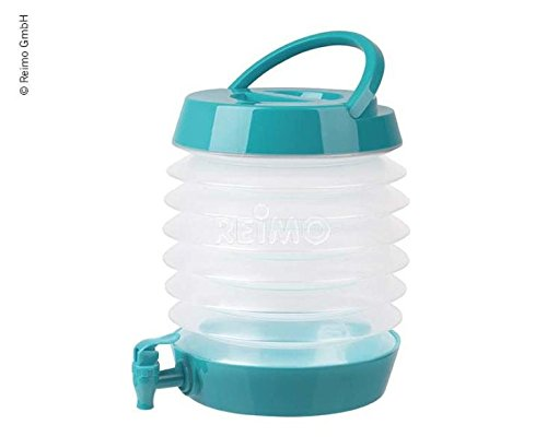 Faltbarer Wasserspender 5,5 Liter Farbe: Petrol Camp4