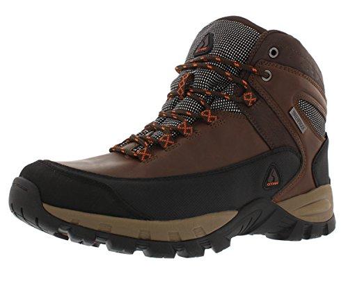 OTAH Forestier Mens Waterproof Hiking Mid-Cut Brown/Black Boots Size 10.5